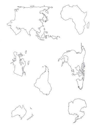 Weltkarte Zum Ausdrucken Oder Für Ihre Wandbild Gestaltung