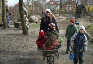 Winteraustreiben Fasching Waldorfkindergarten