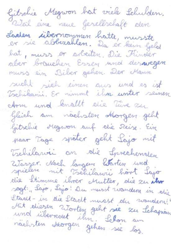 Lesetagebuch An Der Waldorfschule