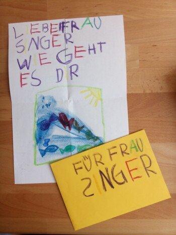 Ein Brief An Den Lehrer Die Lehrerin